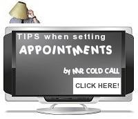 Tips when setting sales appointments